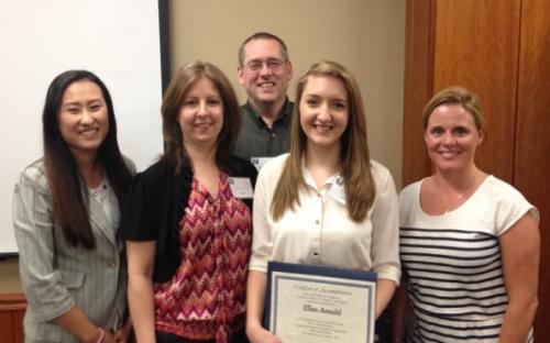 Ellen Arnold Wins Scholarship